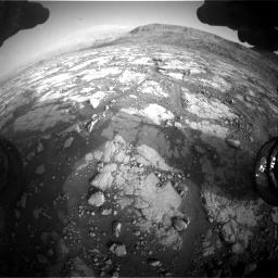 Nasa's Mars rover Curiosity acquired this image using its Front Hazard Avoidance Camera (Front Hazcam) on Sol 2795, at drive 2030, site number 80