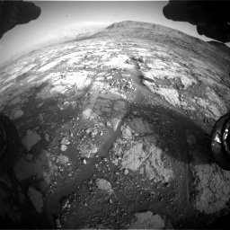 Nasa's Mars rover Curiosity acquired this image using its Front Hazard Avoidance Camera (Front Hazcam) on Sol 2795, at drive 2042, site number 80