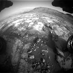 Nasa's Mars rover Curiosity acquired this image using its Front Hazard Avoidance Camera (Front Hazcam) on Sol 2795, at drive 2048, site number 80