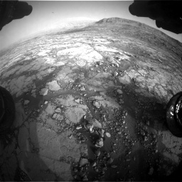 Nasa's Mars rover Curiosity acquired this image using its Front Hazard Avoidance Camera (Front Hazcam) on Sol 2795, at drive 2078, site number 80