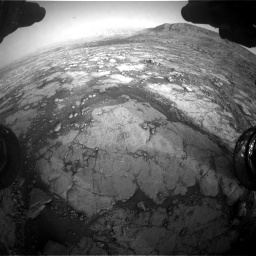Nasa's Mars rover Curiosity acquired this image using its Front Hazard Avoidance Camera (Front Hazcam) on Sol 2795, at drive 2120, site number 80