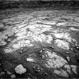 Nasa's Mars rover Curiosity acquired this image using its Left Navigation Camera on Sol 2795, at drive 1786, site number 80