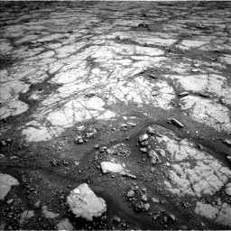 Nasa's Mars rover Curiosity acquired this image using its Left Navigation Camera on Sol 2795, at drive 1792, site number 80