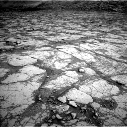 Nasa's Mars rover Curiosity acquired this image using its Left Navigation Camera on Sol 2795, at drive 1858, site number 80