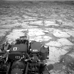 Nasa's Mars rover Curiosity acquired this image using its Left Navigation Camera on Sol 2795, at drive 1864, site number 80