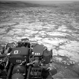 Nasa's Mars rover Curiosity acquired this image using its Left Navigation Camera on Sol 2795, at drive 1888, site number 80