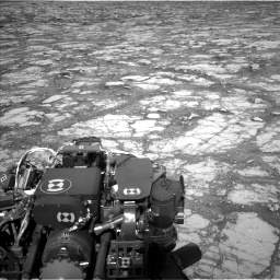 Nasa's Mars rover Curiosity acquired this image using its Left Navigation Camera on Sol 2795, at drive 1924, site number 80