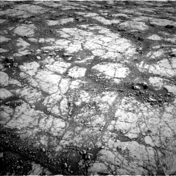 Nasa's Mars rover Curiosity acquired this image using its Left Navigation Camera on Sol 2795, at drive 1930, site number 80