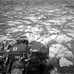 Nasa's Mars rover Curiosity acquired this image using its Left Navigation Camera on Sol 2795, at drive 1936, site number 80
