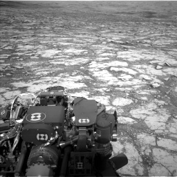 Nasa's Mars rover Curiosity acquired this image using its Left Navigation Camera on Sol 2795, at drive 1954, site number 80