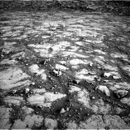 Nasa's Mars rover Curiosity acquired this image using its Left Navigation Camera on Sol 2795, at drive 2000, site number 80