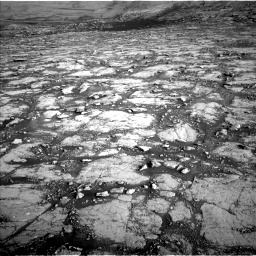 Nasa's Mars rover Curiosity acquired this image using its Left Navigation Camera on Sol 2795, at drive 2006, site number 80