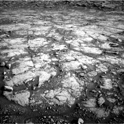 Nasa's Mars rover Curiosity acquired this image using its Left Navigation Camera on Sol 2795, at drive 2030, site number 80