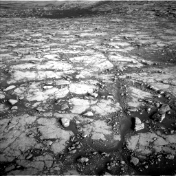 Nasa's Mars rover Curiosity acquired this image using its Left Navigation Camera on Sol 2795, at drive 2060, site number 80