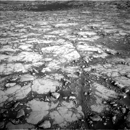 Nasa's Mars rover Curiosity acquired this image using its Left Navigation Camera on Sol 2795, at drive 2066, site number 80