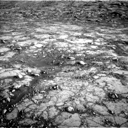 Nasa's Mars rover Curiosity acquired this image using its Left Navigation Camera on Sol 2795, at drive 2072, site number 80