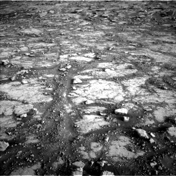 Nasa's Mars rover Curiosity acquired this image using its Left Navigation Camera on Sol 2795, at drive 2102, site number 80
