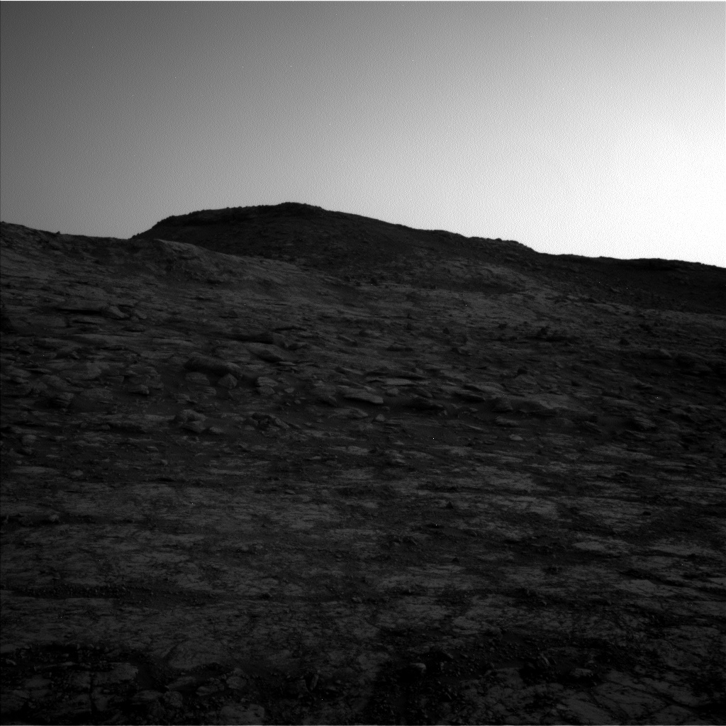 Nasa's Mars rover Curiosity acquired this image using its Left Navigation Camera on Sol 2795, at drive 2136, site number 80
