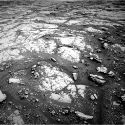 Nasa's Mars rover Curiosity acquired this image using its Right Navigation Camera on Sol 2795, at drive 1786, site number 80