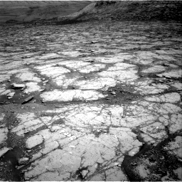 Nasa's Mars rover Curiosity acquired this image using its Right Navigation Camera on Sol 2795, at drive 1804, site number 80