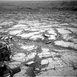 Nasa's Mars rover Curiosity acquired this image using its Right Navigation Camera on Sol 2795, at drive 1810, site number 80