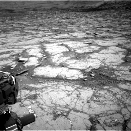 Nasa's Mars rover Curiosity acquired this image using its Right Navigation Camera on Sol 2795, at drive 1822, site number 80