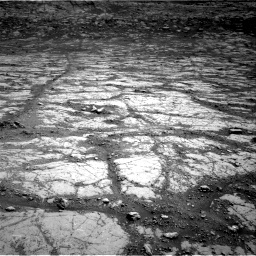 Nasa's Mars rover Curiosity acquired this image using its Right Navigation Camera on Sol 2795, at drive 1840, site number 80