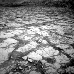 Nasa's Mars rover Curiosity acquired this image using its Right Navigation Camera on Sol 2795, at drive 1858, site number 80
