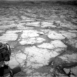 Nasa's Mars rover Curiosity acquired this image using its Right Navigation Camera on Sol 2795, at drive 1864, site number 80