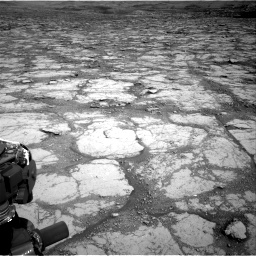 Nasa's Mars rover Curiosity acquired this image using its Right Navigation Camera on Sol 2795, at drive 1876, site number 80