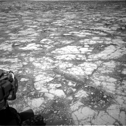 Nasa's Mars rover Curiosity acquired this image using its Right Navigation Camera on Sol 2795, at drive 1918, site number 80