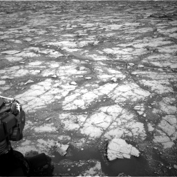 Nasa's Mars rover Curiosity acquired this image using its Right Navigation Camera on Sol 2795, at drive 1936, site number 80