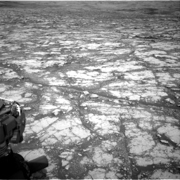 Nasa's Mars rover Curiosity acquired this image using its Right Navigation Camera on Sol 2795, at drive 1942, site number 80