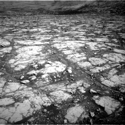 Nasa's Mars rover Curiosity acquired this image using its Right Navigation Camera on Sol 2795, at drive 1954, site number 80