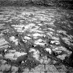 Nasa's Mars rover Curiosity acquired this image using its Right Navigation Camera on Sol 2795, at drive 2000, site number 80