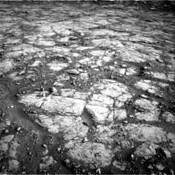 Nasa's Mars rover Curiosity acquired this image using its Right Navigation Camera on Sol 2795, at drive 2018, site number 80