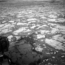 Nasa's Mars rover Curiosity acquired this image using its Right Navigation Camera on Sol 2795, at drive 2024, site number 80
