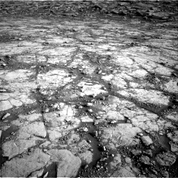 Nasa's Mars rover Curiosity acquired this image using its Right Navigation Camera on Sol 2795, at drive 2042, site number 80