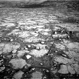 Nasa's Mars rover Curiosity acquired this image using its Right Navigation Camera on Sol 2795, at drive 2048, site number 80