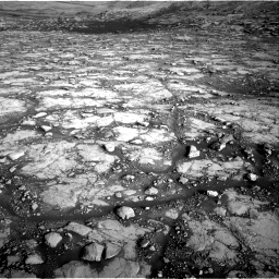 Nasa's Mars rover Curiosity acquired this image using its Right Navigation Camera on Sol 2795, at drive 2054, site number 80