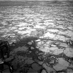 Nasa's Mars rover Curiosity acquired this image using its Right Navigation Camera on Sol 2795, at drive 2066, site number 80