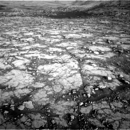 Nasa's Mars rover Curiosity acquired this image using its Right Navigation Camera on Sol 2795, at drive 2072, site number 80