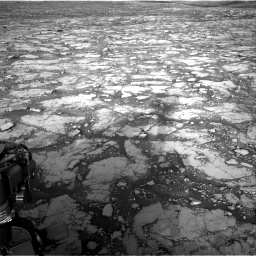 Nasa's Mars rover Curiosity acquired this image using its Right Navigation Camera on Sol 2795, at drive 2084, site number 80