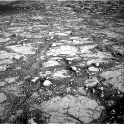 Nasa's Mars rover Curiosity acquired this image using its Right Navigation Camera on Sol 2795, at drive 2096, site number 80