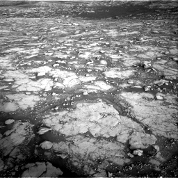 Nasa's Mars rover Curiosity acquired this image using its Right Navigation Camera on Sol 2795, at drive 2108, site number 80