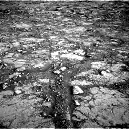 Nasa's Mars rover Curiosity acquired this image using its Right Navigation Camera on Sol 2795, at drive 2114, site number 80