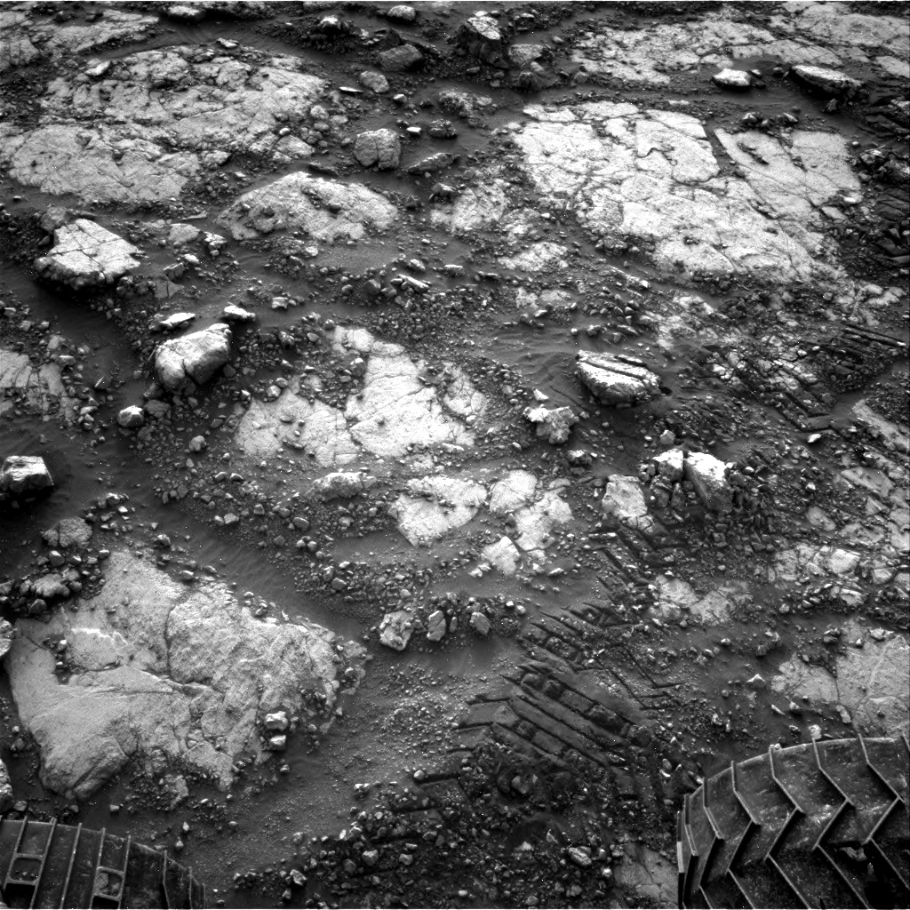 Nasa's Mars rover Curiosity acquired this image using its Right Navigation Camera on Sol 2795, at drive 2136, site number 80