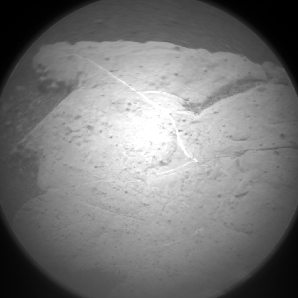 Nasa's Mars rover Curiosity acquired this image using its Chemistry & Camera (ChemCam) on Sol 2796, at drive 2136, site number 80
