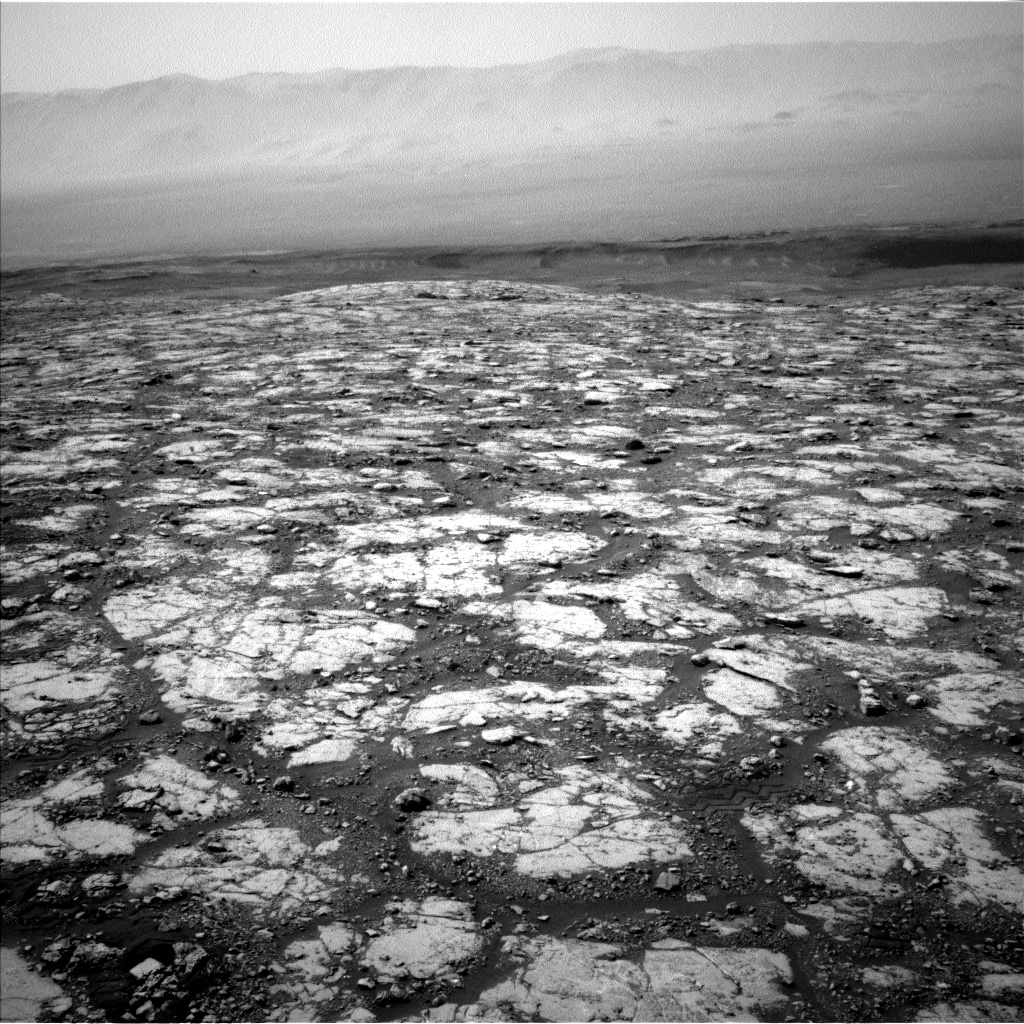 Nasa's Mars rover Curiosity acquired this image using its Left Navigation Camera on Sol 2796, at drive 2136, site number 80