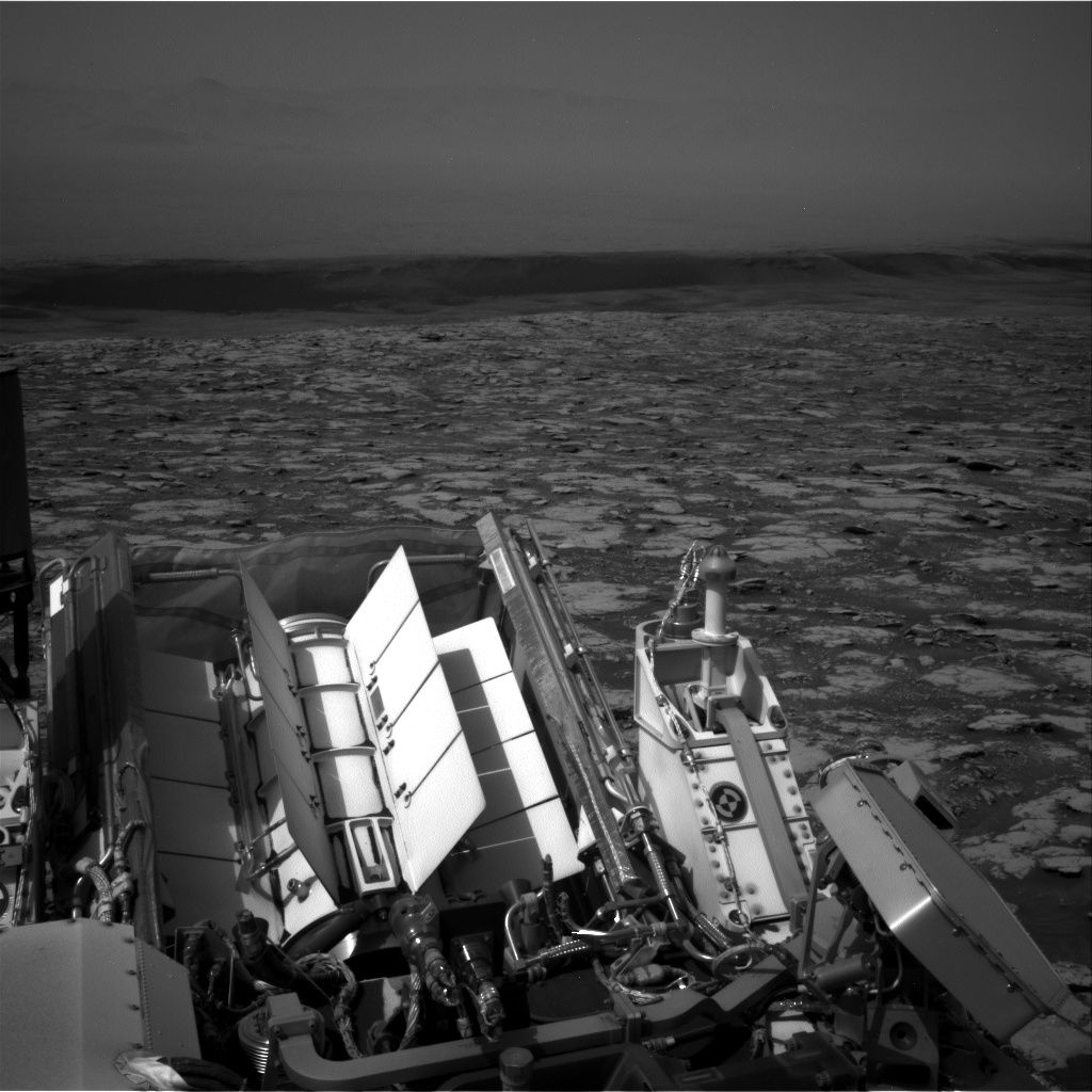 Nasa's Mars rover Curiosity acquired this image using its Right Navigation Camera on Sol 2796, at drive 2136, site number 80